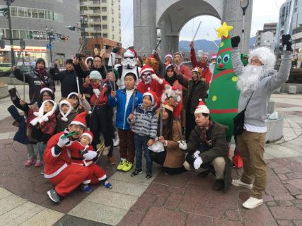 【出撃レポート】12月22日 はだのおそうじたい「100人サンタの陣」@神奈川県秦野市
