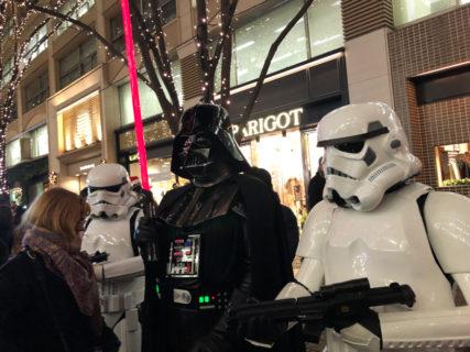 【出撃レポート】12月23日(月)Marunouchi Bright Christmas Parade