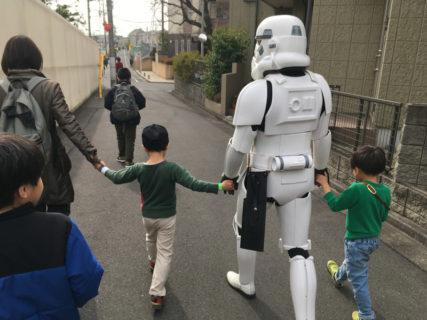 【出撃レポート】2月15日 杉並区立大宮小学校 みんなで歩こう会