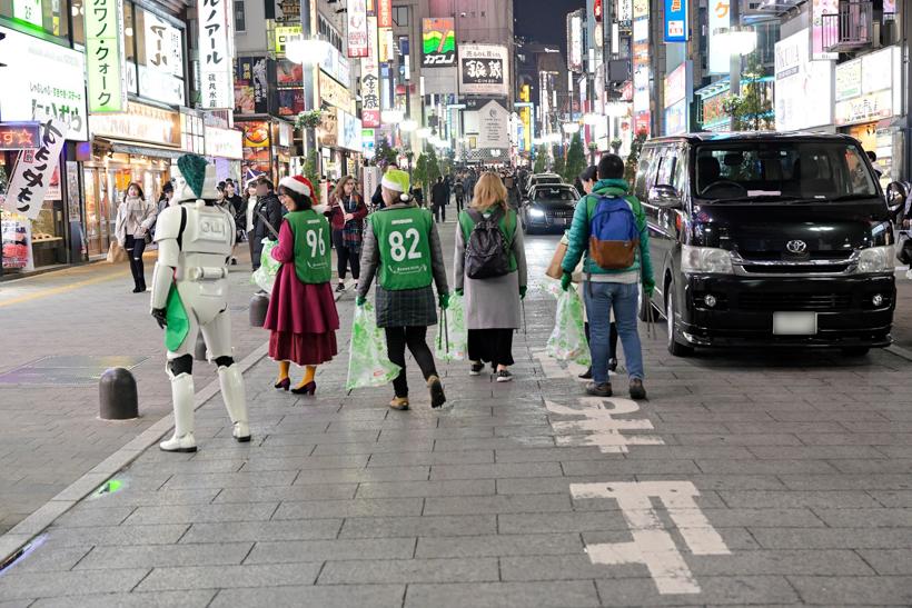 【出撃レポート】2019年12月 green bird歌舞伎町チーム清掃活動お手伝い