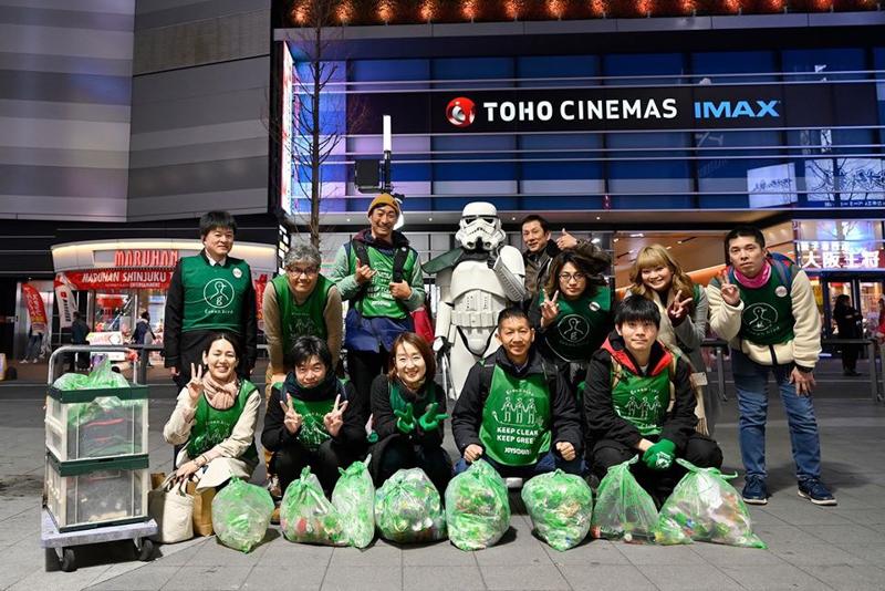 【出撃レポート】1月度 green bird 歌舞伎町チーム清掃活動お手伝い