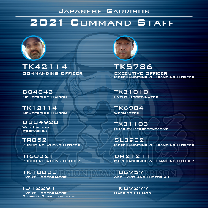 2021 Command Staff